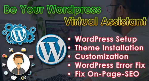 Be Your WordPress Virtual Assistant
