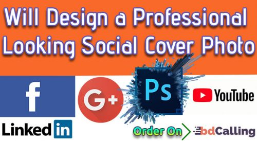 Will Design A Facebook, Google+, Twitter, LinkedIn Or YouTube Header Photo For You